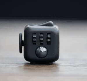 $6.99 Oliasports Fidget Cube Relieves Stress & Anxiety, Black
