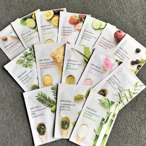 Buy 10 Get 10 FreeMasks Sale @ Innisfree