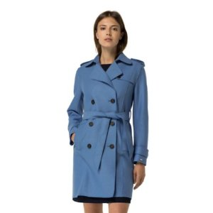 Boiled Wool Trench | Tommy Hilfiger USA