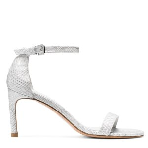 NuNakedStraight Mid Heel Sandals - Shoes | Shop Stuart Weitzman