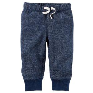 Brushed Fleece Pull-On Pants