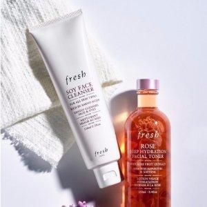 送 Fresh 口碑三件套Sephora 精选美妆美肤产品热卖