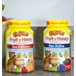L'il Critters Fruit N' Honey Bee Active Complete Multivitamin, 120 Count