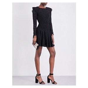 MAJE - Rylie knitted-lace dress