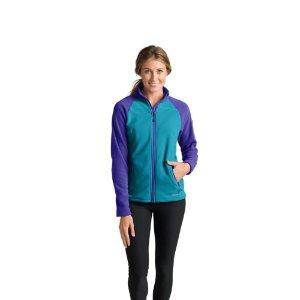 Women's Cloud Layer Pro Fleece Full-Zip Jacket - Color-Blocked