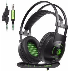 $8.99Sades SA801 Over-Ear Stereo Gaming Headset with Microphone