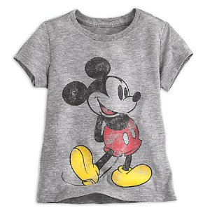 Mickey Mouse Classic Heathered Tee for Girls | Disney Store