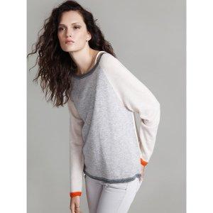 Label+Thread Luxe Baseball Sweater | Bluefly.Com