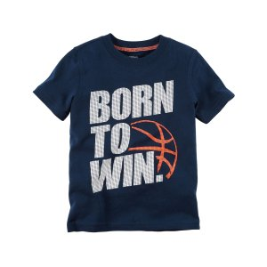 Toddler Boy Born To Win Graphic Tee | Carters.com