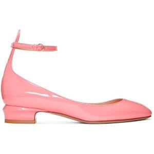 Valentino: Pink Tango Mary Jane Heels