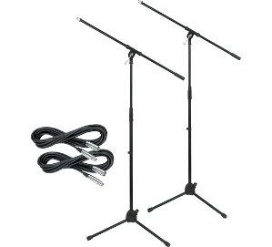 $24.99Musician's Gear Tripod Mic Stand with 20 Foot Mic Cable (2 Pack)