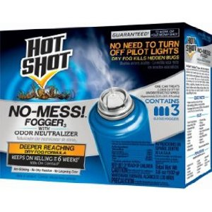 Hot Shot无痕空气烟雾杀虫剂(3只装)