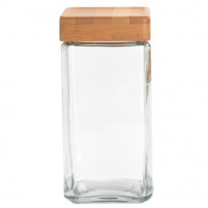 ANCHOR HOCKING 2 qt Stackable w/ Bamboo Lid