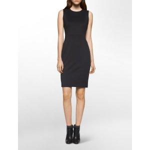 scuba panel sheath dress | Calvin Klein