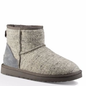 UGG® Official Men's Classic Mini Donegal Tweed Boots