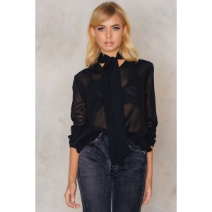 Silvia knot blouse - Buy online | NA-KD