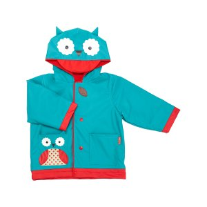 Skip Hop Owl Zoo Raincoat - Toddler & Girls