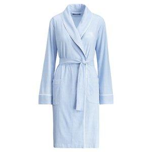 Gingham Jersey Robe - Sleepwear & Robes � Women - RalphLauren.com