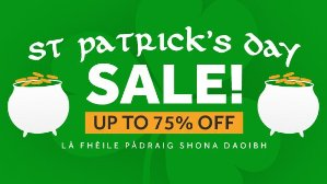 Up to 90% Off!St. Patrick's Day Sale @ Greenman Gaming