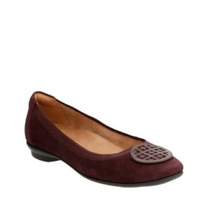 Candra Blush Aubergine Suede - Extra Wide Width Shoes for Women - Clarks® Shoes Official Site