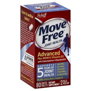 Schiff Move Free Joint Health 蓝瓶维骨力80粒装