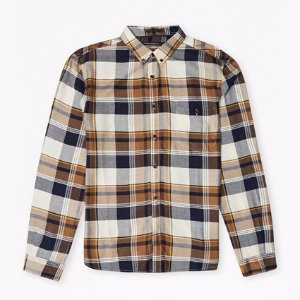 Rayon Shirting Check Shirt | Mens Sale | French Connection Usa