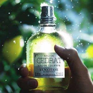 20% OFFL'Occitane Cedrat Collections Men's Skin Care Sale