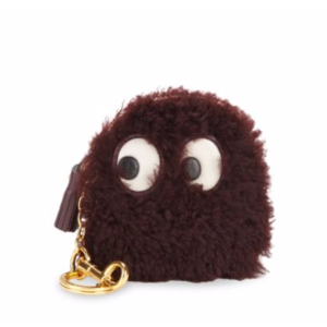 Anya Hindmarch - Ghost Shearling Coin Purse - saksoff5th.com