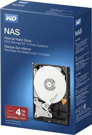 WD NAS 4TB Internal SATA Hard Drive for Desktops