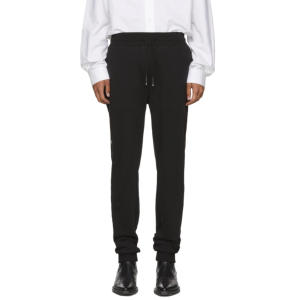 Alyx: SSENSE Exclusive Black Logo Sweatpants