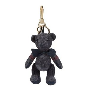 Burberry Thomas Check Bear Charm