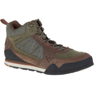 Men - Burnt Rock Mid - Dusty Olive | Merrell