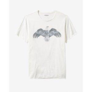 Raw Edge Eagle Graphic T-shirt   Express