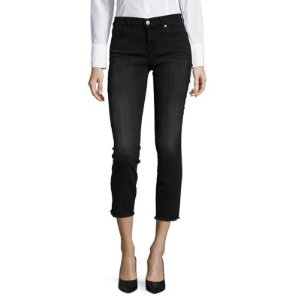 Onyx Cropped Jeans