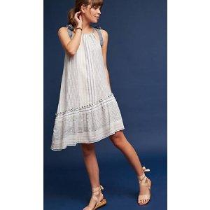 Yarn-Dyed Miller Dress