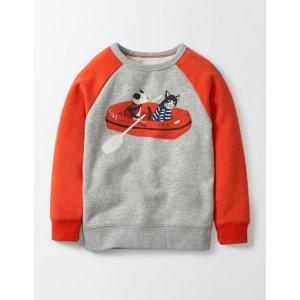 Fun Coastal Sweatshirt 23031 Tops & T-Shirts at Boden