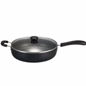 $14.99T-fal Specialty Nonstick Dishwasher Safe Oven Safe Jumbo Cooker Saute Pan