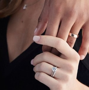 Blue Nile Platinum Event! 15% off select top-selling platinum wedding rings and fine jewelry
