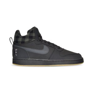 Nike Men's Court Borough Mid Premium Casual Sneakers from Finish Line - Finish Line Athletic Shoes - Men - Macy's