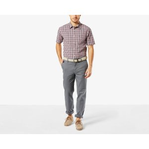 Pacific Washed Khaki, Straight Fit | BURMA GREY | Dockers® United States (US)