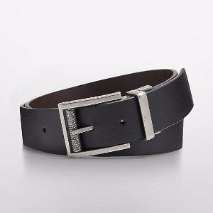 reversible leather matte belt | Calvin Klein