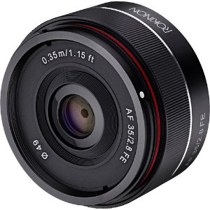 Rokinon AF 35mm f/2.8 FE for SONY E Mount