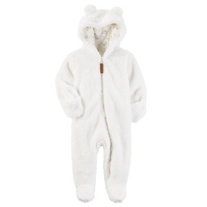 Carter's Newborn Boys' Hooded Pram Suit - Clothing - Baby Clothing - Baby Coats & Jackets