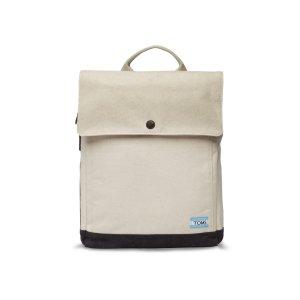 Natural Washed Canvas Trekker Backpack   TOMS®