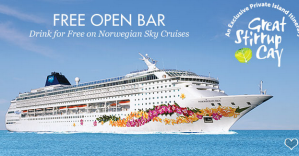 From $179The Bahamas Cruise on Norwegian Sky + Free Open Bar & $50 Deposits