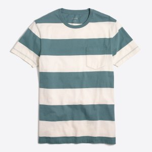 Slim surf-striped T-shirt : T-shirts & Polos | J.Crew Factory
