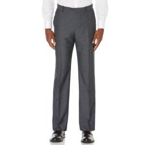 Micro Pattern Suit Pant