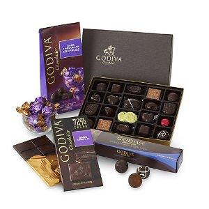 Dark Chocolate Lover's Gift Set | GODIVA
