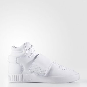 adidas Tubular Invader Strap Shoes Kids' White  | eBay