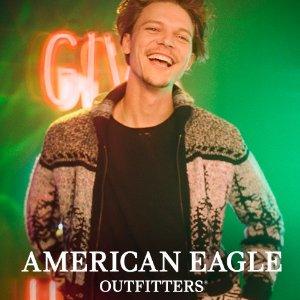 5折+包邮American Eagle 男士秋冬外套 大衣限时半价热卖
